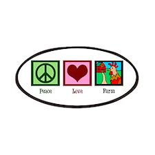 Peace Love Farm Patches