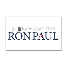Alabamians for Ron Paul Car Magnet 20 x 12