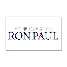 Arkansans for Ron Paul Car Magnet 20 x 12