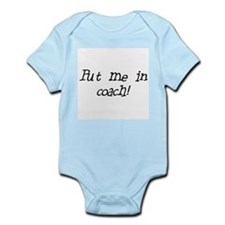 put me in coach Infant Bodysuit