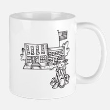 School Girl Mug