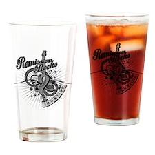 Brain Cancer Remission ROCKS Drinking Glass