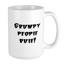grumpy people rule Mug