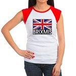 BRIXMIS Women's Cap Sleeve T-Shirt