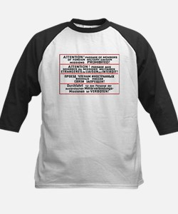 Mission Restriction Sign Tee
