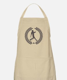 Cool Vintage Baseball Graphic Apron