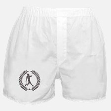 Cool Vintage Baseball Graphic Boxer Shorts