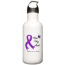 Pancreatic Cancer Aunt Water Bottle