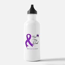 Pancreatic Cancer Dad Water Bottle