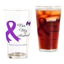 Cute Pancreatic cancer hope Drinking Glass