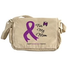 Pancreatic Cancer Mom Messenger Bag