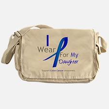 Colon Cancer Daughter Messenger Bag