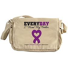 Alzheimer's MissMyFather Messenger Bag