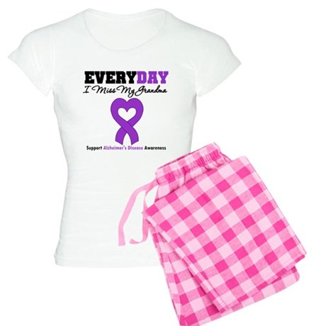 Alzheimer's MissMyGrandma Women's Light Pajamas