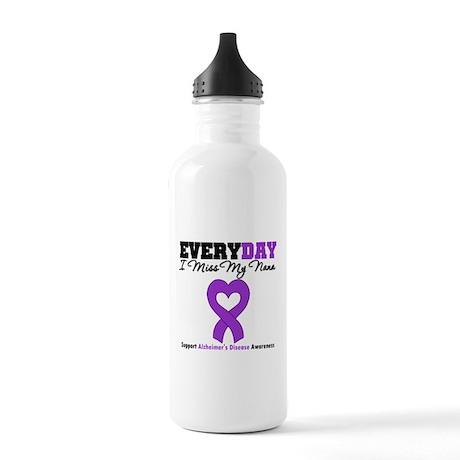 Alzheimer's MissMyNana Stainless Water Bottle 1.0L
