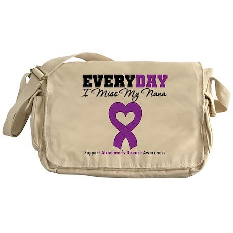 Alzheimer's MissMyNana Messenger Bag