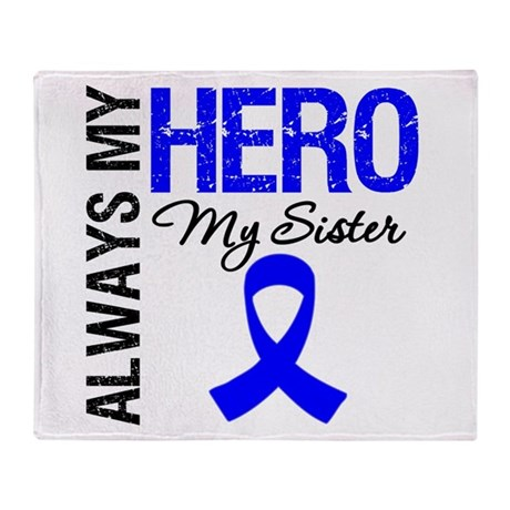 AlwaysMyHero Sister Throw Blanket