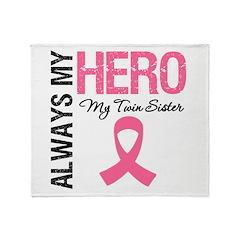 AlwaysMyHero Twin Sister Throw Blanket