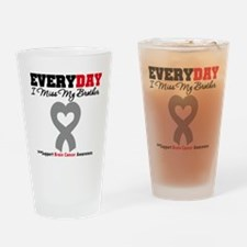 Brain Cancer Brother Drinking Glass