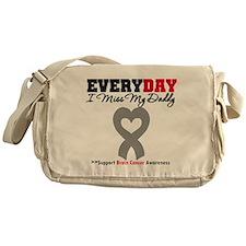 Brain Cancer Daddy Messenger Bag