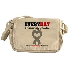 Brain Cancer Grandson Messenger Bag