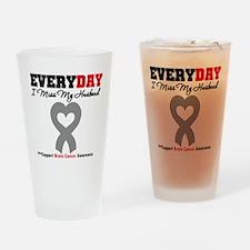 Brain Cancer Husband Drinking Glass
