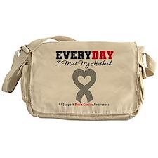 Brain Cancer Husband Messenger Bag