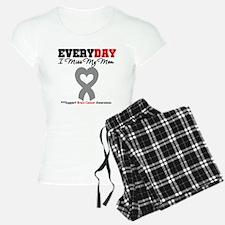 Brain Cancer Mom Pajamas
