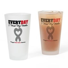 Brain Cancer Mother Drinking Glass