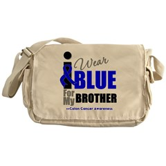 IWearBlue Brother Messenger Bag