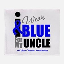 IWearBlue Uncle Throw Blanket