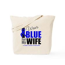 IWearBlue Wife Tote Bag
