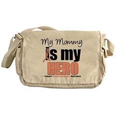 EndometrialCancerHeroMommy Messenger Bag