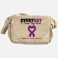 PancreaticCancer Uncle Messenger Bag