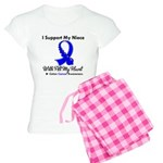 ColonCancerHeart Niece Women's Light Pajamas