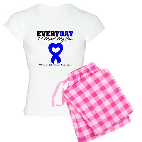 ColonCancerHeart Son Women's Light Pajamas