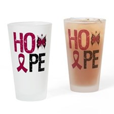MultipleMyeloma Hope Drinking Glass