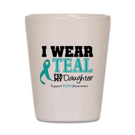 IWearTeal Daughter Shot Glass