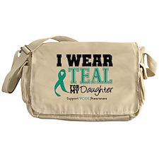 IWearTeal Daughter Messenger Bag