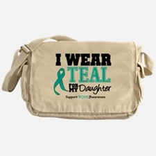 IWearTeal Daughter Messenger Bag