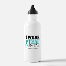 I Wear Teal For Me Water Bottle