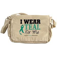 I Wear Teal For Me Messenger Bag
