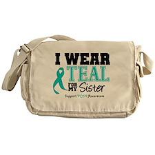 IWearTeal Sister Messenger Bag