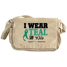 IWearTeal Wife Messenger Bag