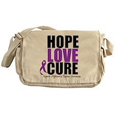 HopeLoveCure Alzheimer's Messenger Bag