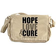 HopeLoveCure Diabetes Messenger Bag