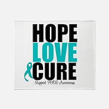 HopeLoveCure PCOS Throw Blanket