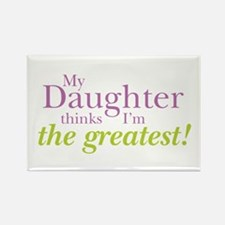 My Daughter Rectangle Magnet (100 pack)
