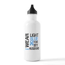 IWearLightBlue Husband Sports Water Bottle