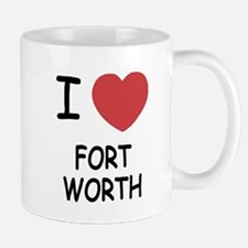 I heart fort worth Mug